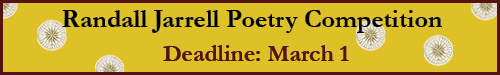 Randall Jarrell Poetry Competition